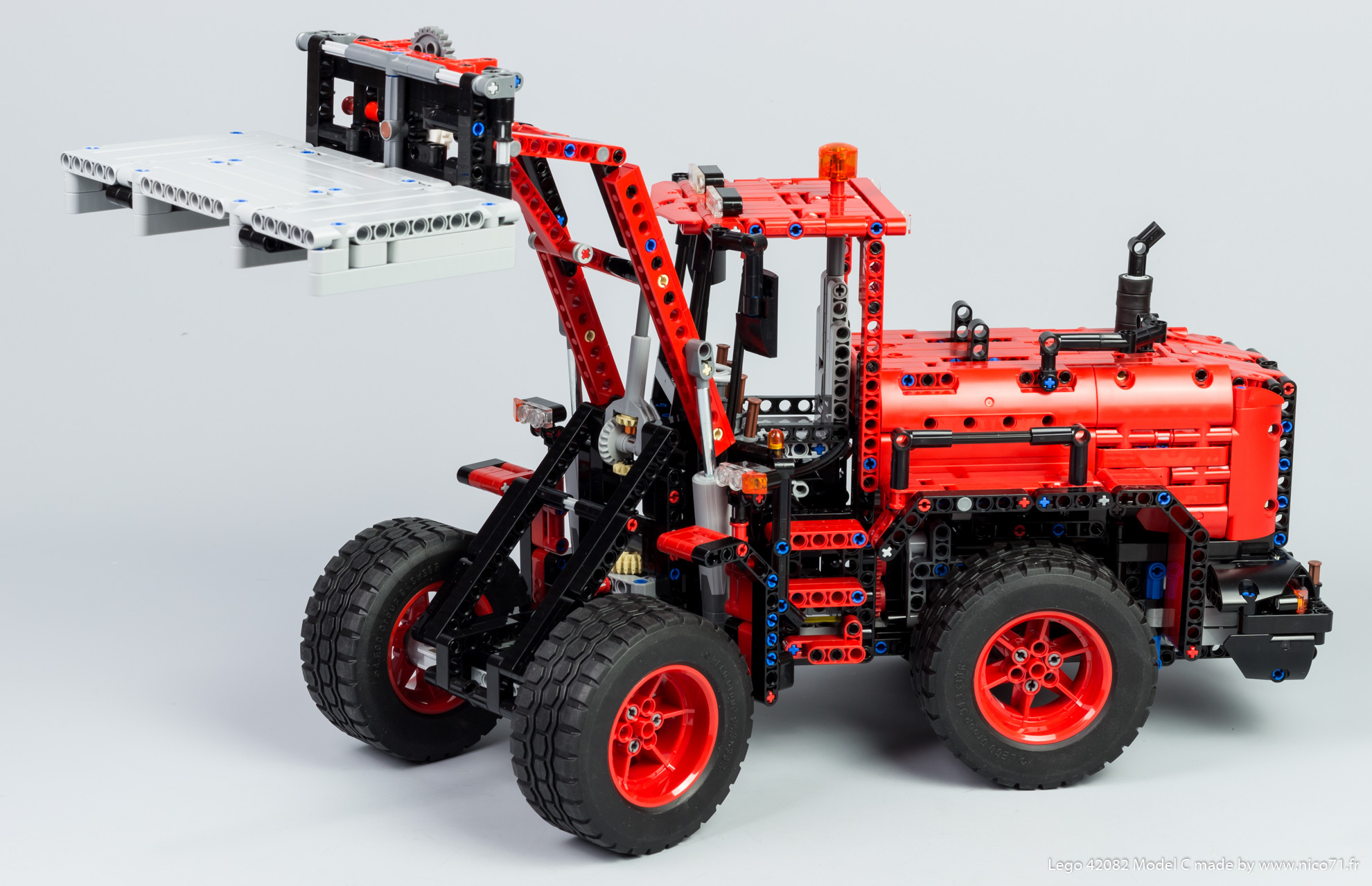 TECHNIC MOC 18978 42082 Model C Wheel Loader by Nico71 MOCBRICKLAND