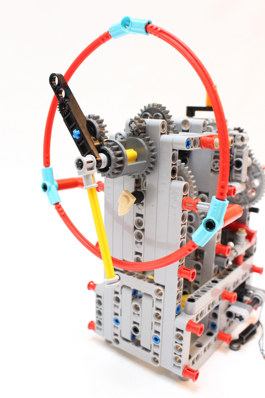 lego ball clock instructions