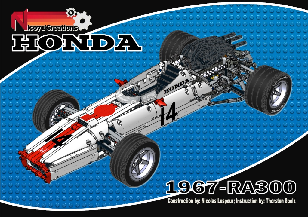 Honda Ra 300 1967 Nico71s Creations