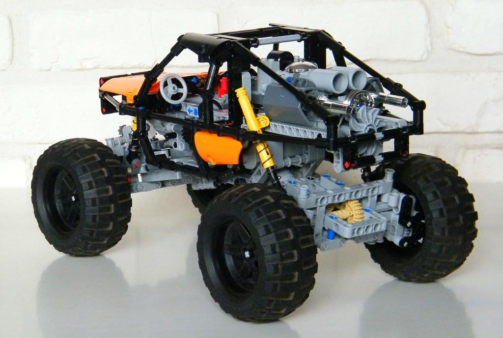 Technic moc 0169 trial crawler by nico71 mocbrickland