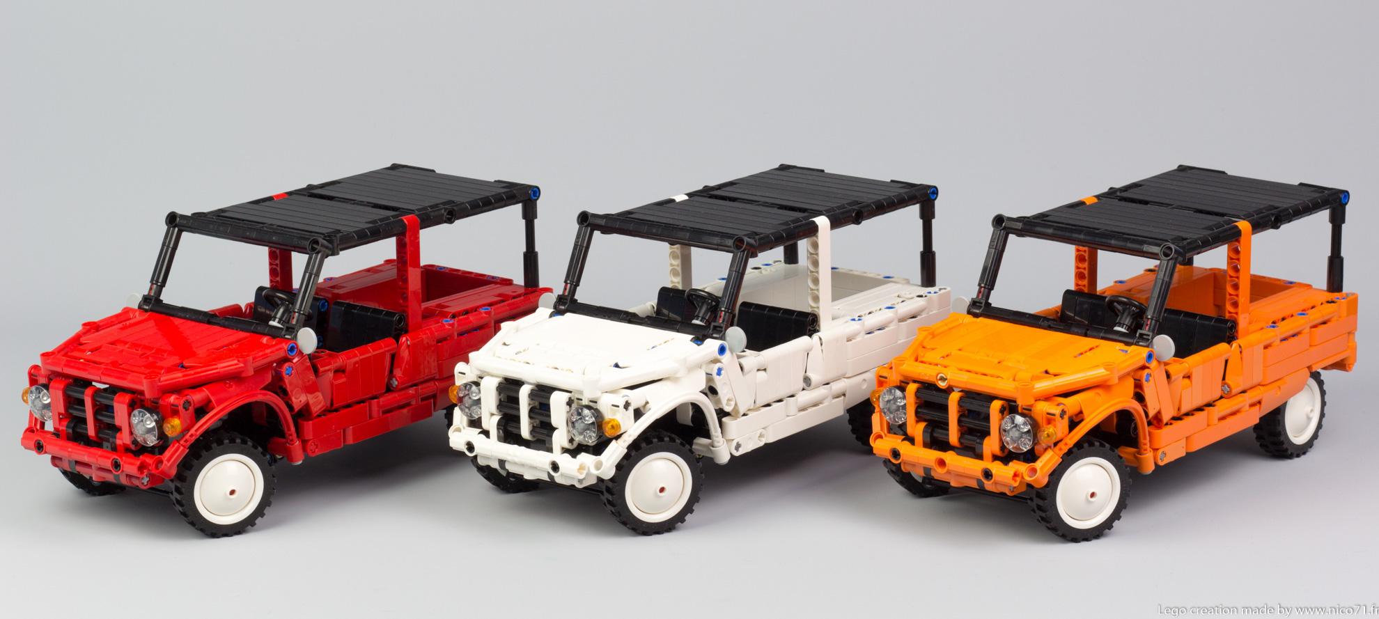 Lego-Technic-Citroen-Mehari-1
