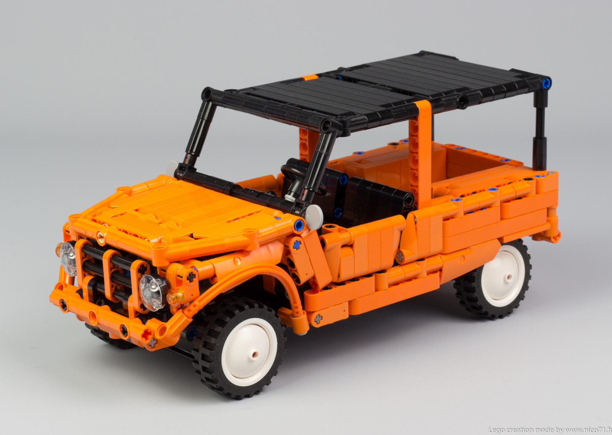 Lego-Technic-Citroen-Mehari-11