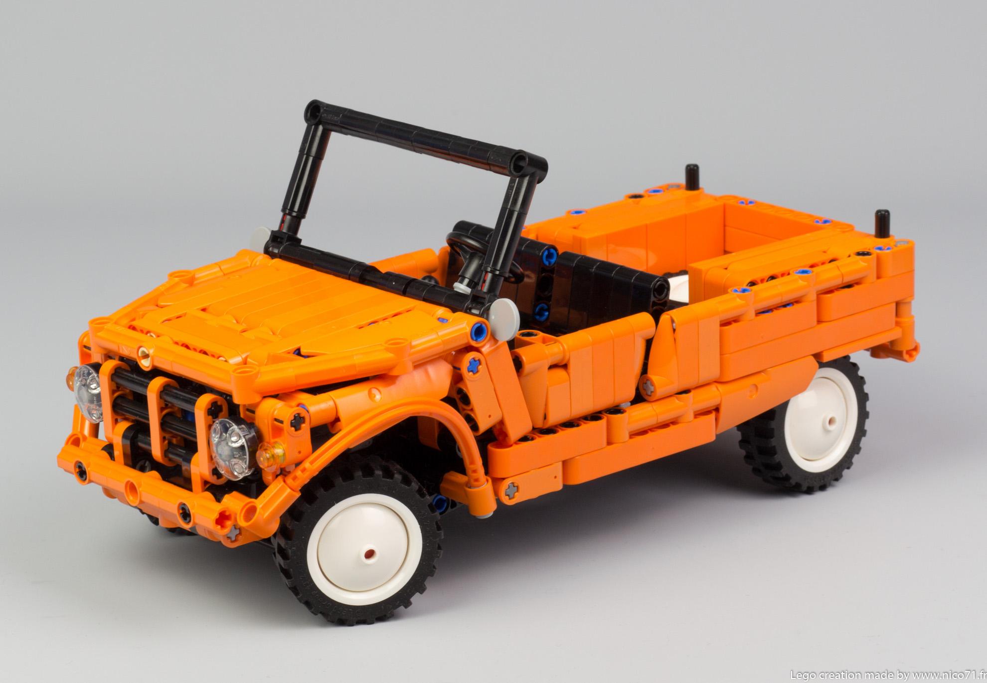 Lego-Technic-Citroen-Mehari-14