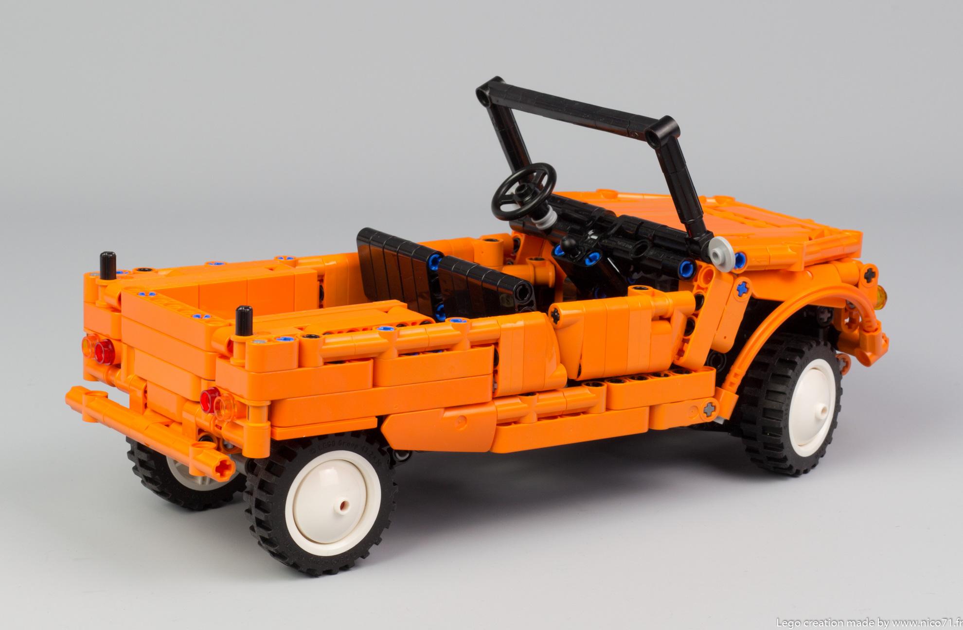Lego-Technic-Citroen-Mehari-15