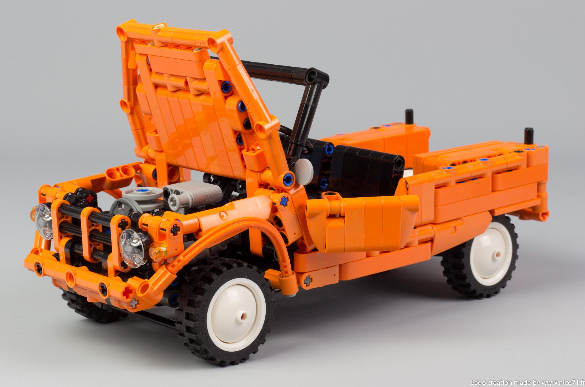 Lego-Technic-Citroen-Mehari-17
