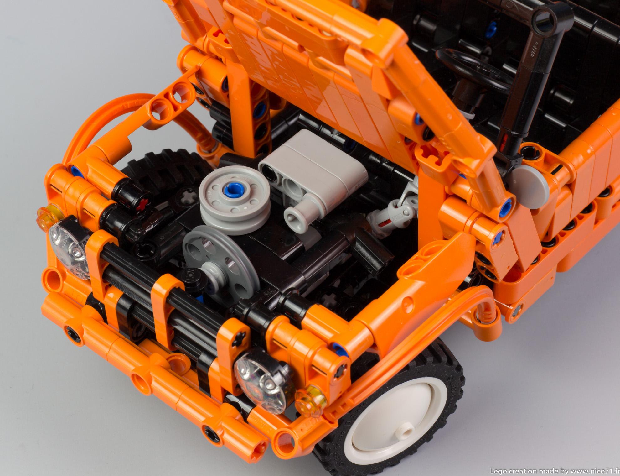 Lego-Technic-Citroen-Mehari-19