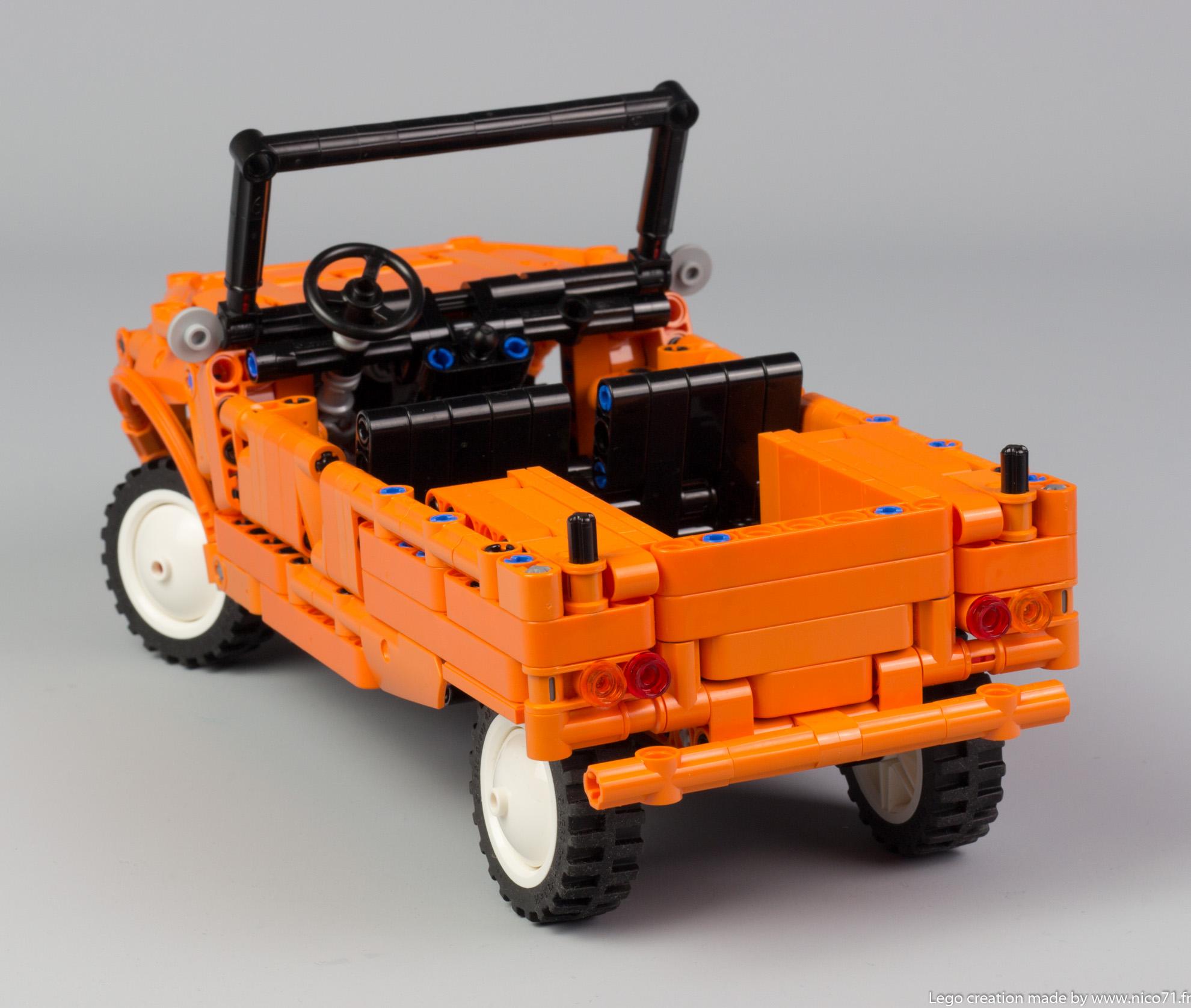 Lego-Technic-Citroen-Mehari-21