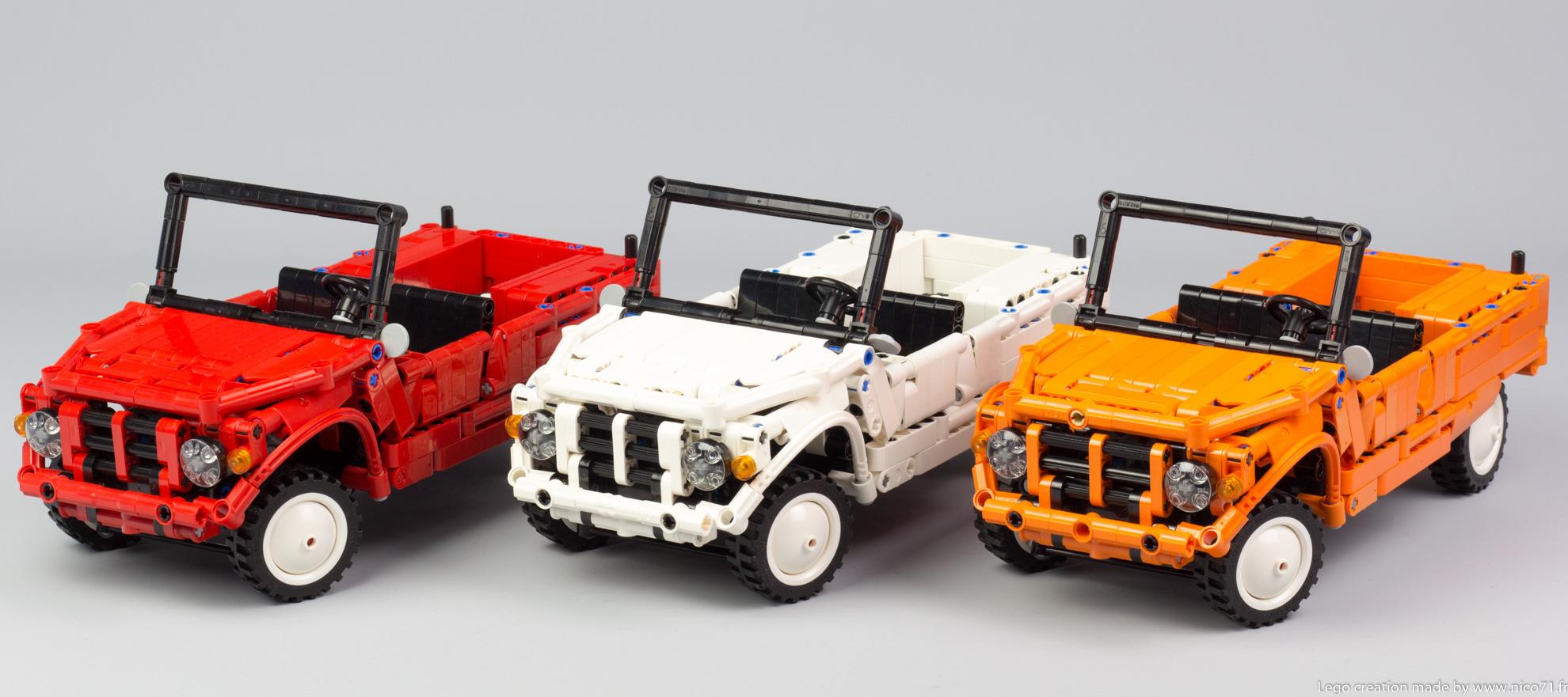 Lego-Technic-Citroen-Mehari-3