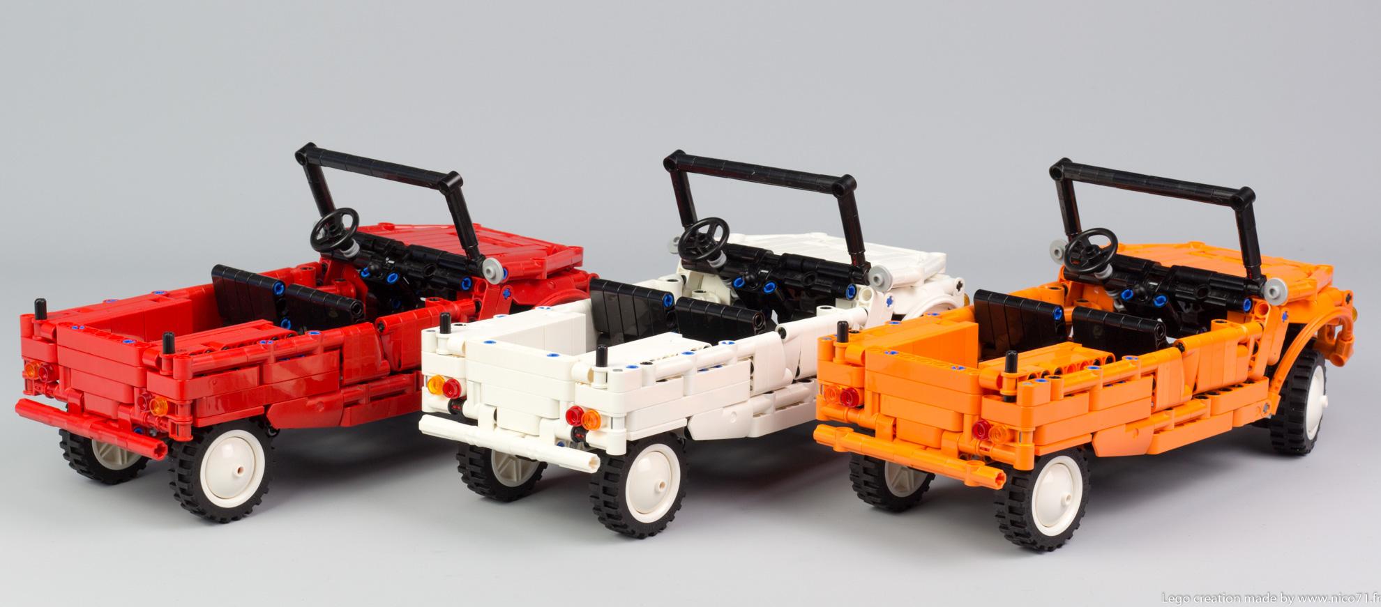 Lego-Technic-Citroen-Mehari-4