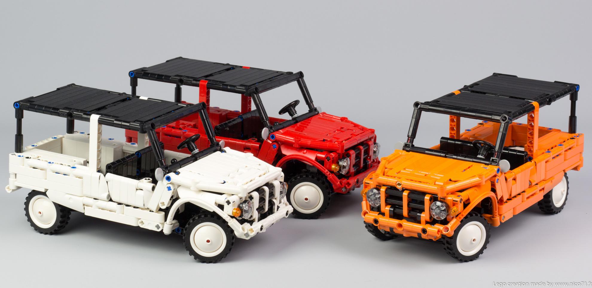 Lego-Technic-Citroen-Mehari-6