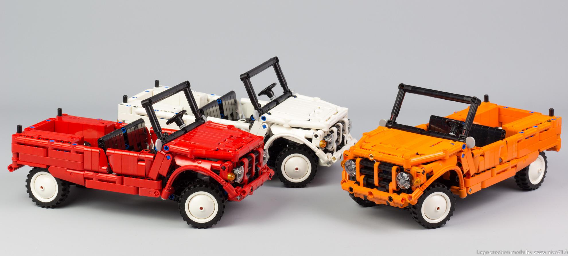 Lego-Technic-Citroen-Mehari-7