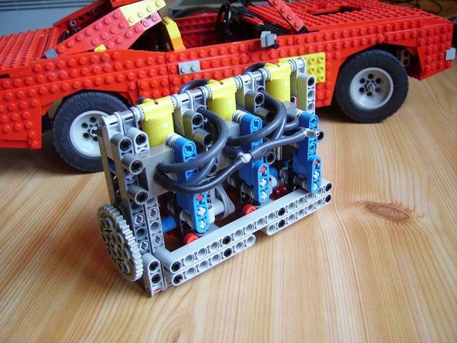 Lego Pneumatic Engine