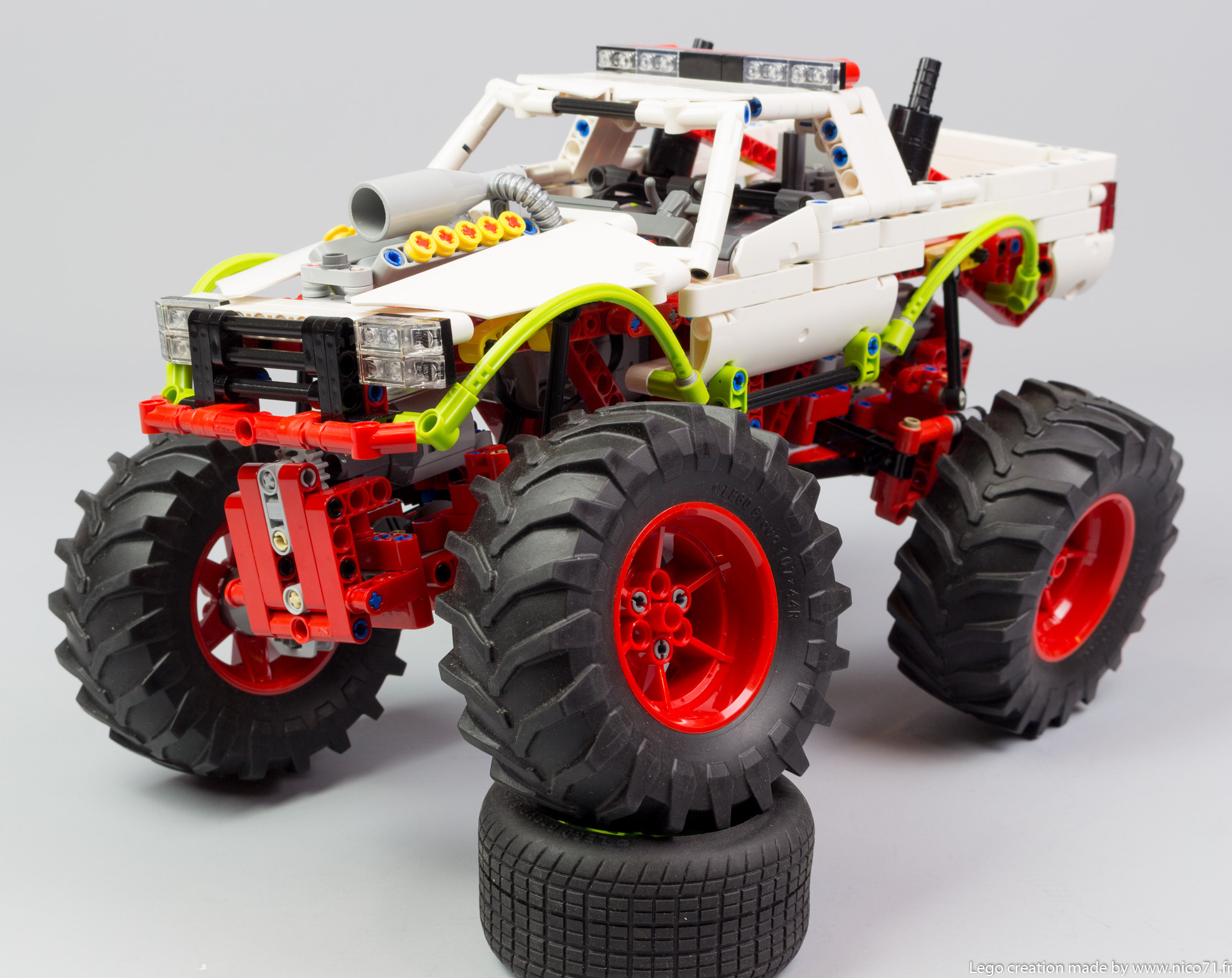 Monster Truck Nico71 S Technic Creations