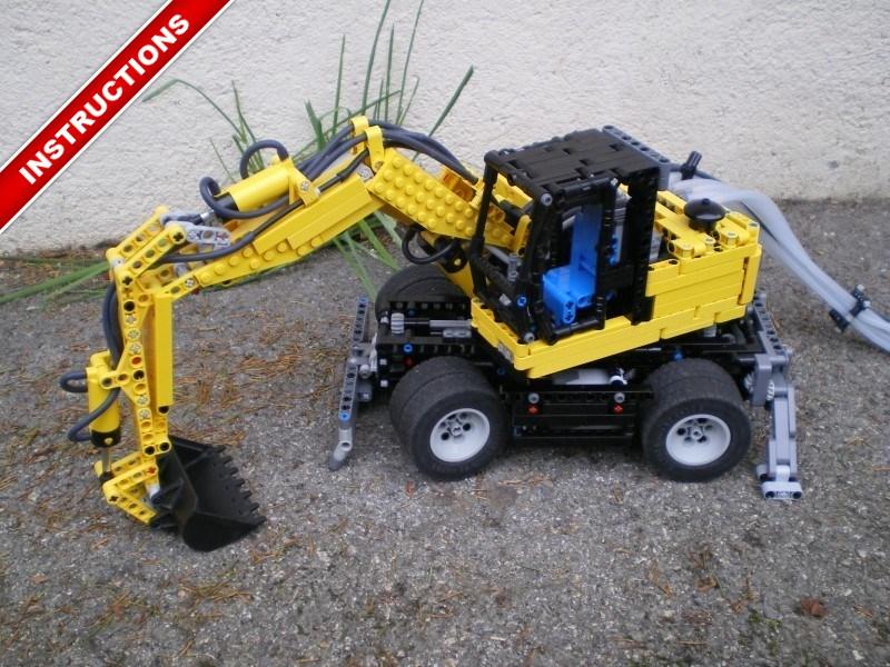 Wheel Excavator Nico71s Creations