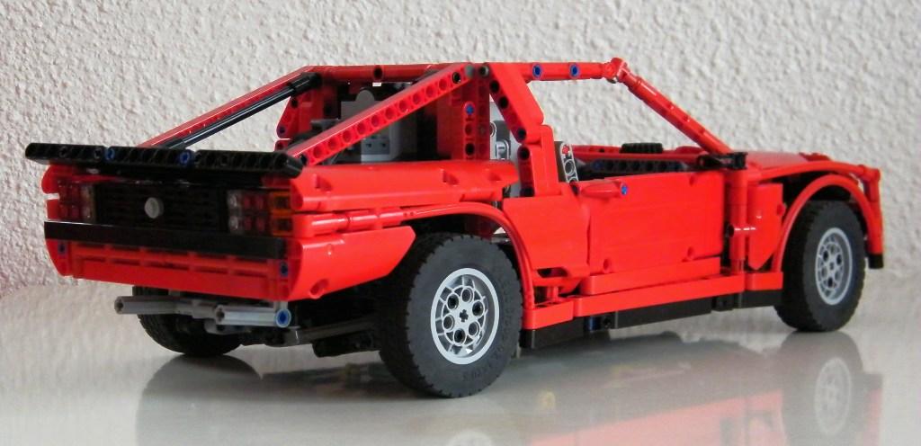 Lego Rc Rally Car Instructions