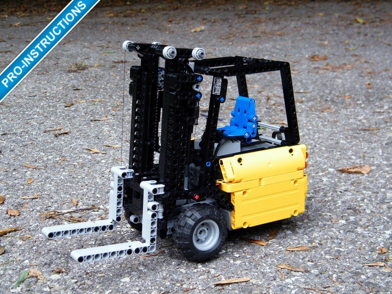Mini Forklift Truck Nico71s Creations