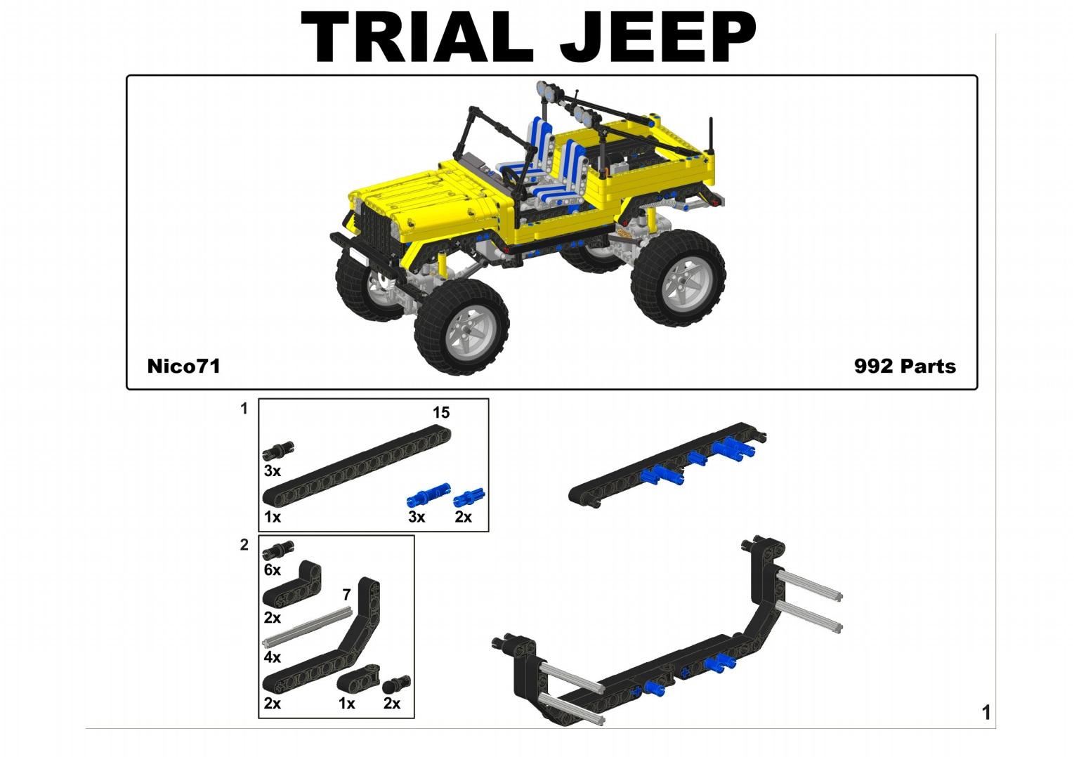Trial Jeep Nico71s Creations