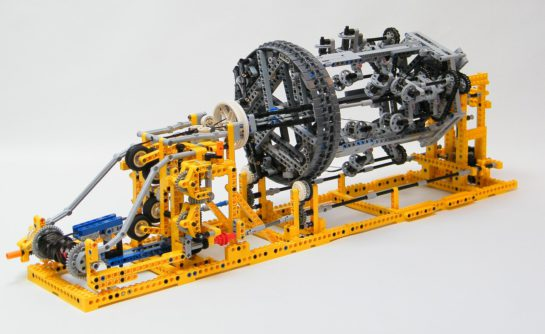 Lego Braiding Machine