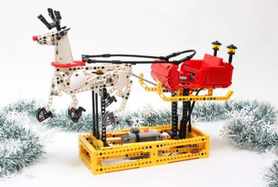 Lego santa sleight