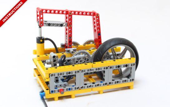 Lego Pneumatic Engine – Nico71's Technic Creations