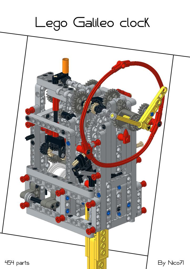 Galileo Clock Nico71s Creations